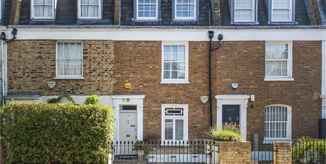 Asking Price £1,790,000, 4 Bedroom House For Sale in London, SW11