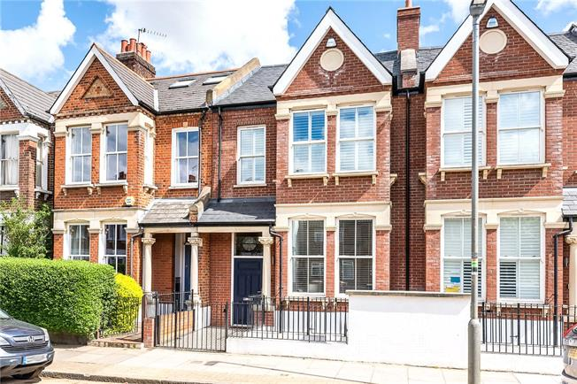 Guide Price £1,895,000, 5 Bedroom Terraced House For Sale in London, SW11