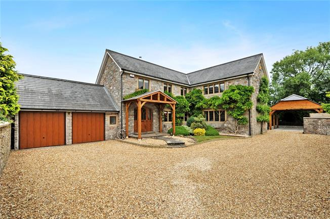 Guide Price £775,000, 4 Bedroom Detached House For Sale in Kingston Seymour, BS21
