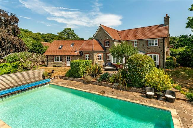 Guide Price £699,950, 4 Bedroom Semi Detached House For Sale in Tytherington, Wotton-unde, GL12