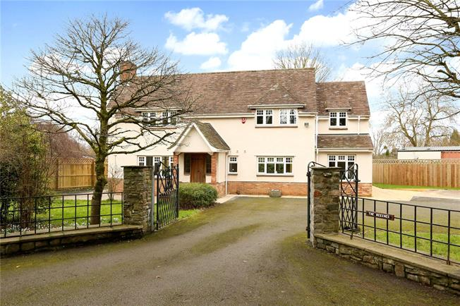 Guide Price £775,000, 4 Bedroom Detached House For Sale in Alveston, BS35