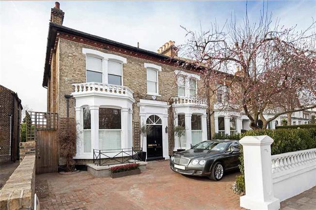 Asking Price £3,350,000, 6 Bedroom Semi Detached House For Sale in London, SW13