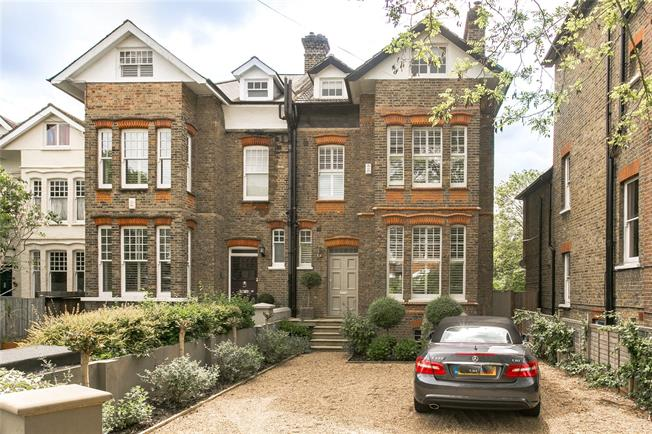 Asking Price £2,400,000, 5 Bedroom Semi Detached House For Sale in London, SW12
