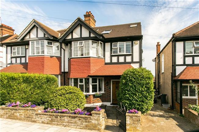 Asking Price £850,000, 4 Bedroom Semi Detached House For Sale in London, SW16