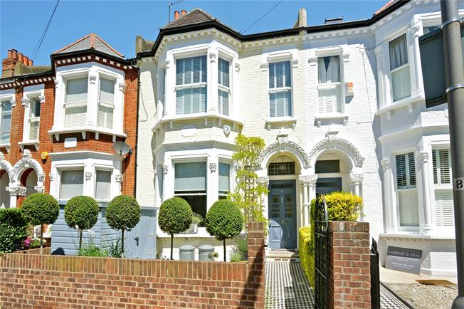 Asking Price £1,500,000, 4 Bedroom Terraced House For Sale in London, SW17