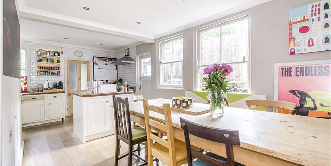 Asking Price £1,450,000, 4 Bedroom House For Sale in London, SW12