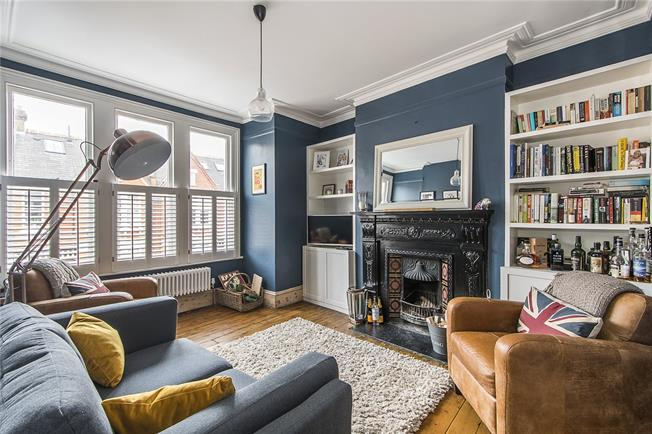 Asking Price £900,000, 4 Bedroom Flat For Sale in London, SW12