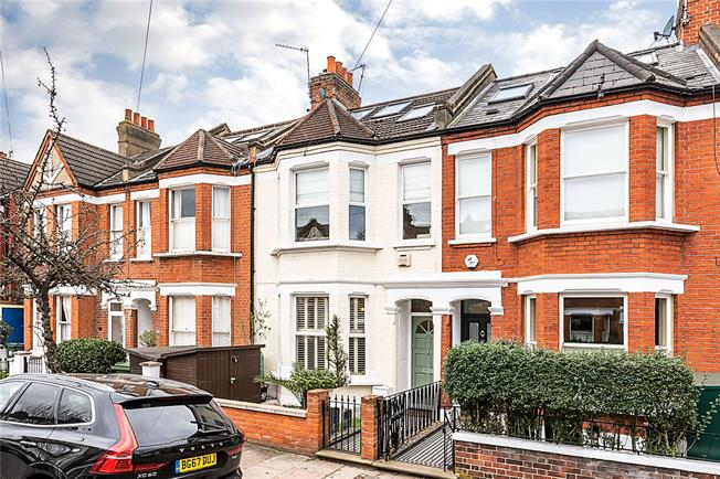 Asking Price £1,200,000, 4 Bedroom Terraced House For Sale in London, SW12