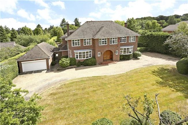 Guide Price £1,850,000, 4 Bedroom Detached House For Sale in Buckinghamshire, HP8