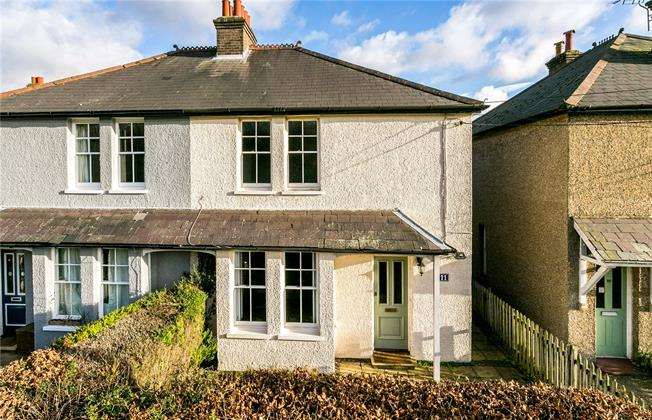 Guide Price £695,000, 3 Bedroom Semi Detached House For Sale in Penn Street, HP7