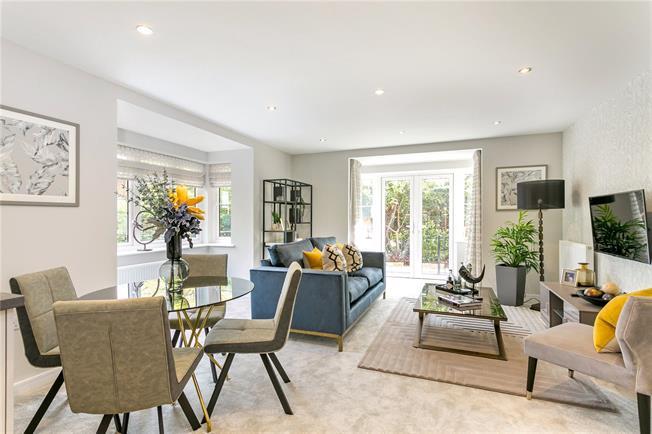 Asking Price £265,000, 1 Bedroom Flat For Sale in Chesham, Buckinghamshire, HP5