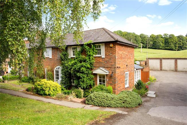 Guide Price £695,000, 3 Bedroom Semi Detached House For Sale in Winchmore Hill, HP7