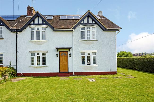 Guide Price £595,000, 5 Bedroom Semi Detached House For Sale in Hadlow, TN11