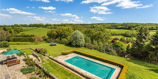 Guide Price £2,350,000, 6 Bedroom Detached House For Sale in Westerham, TN16
