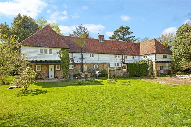 Guide Price £925,000, 5 Bedroom Land For Sale in Ightham, TN15