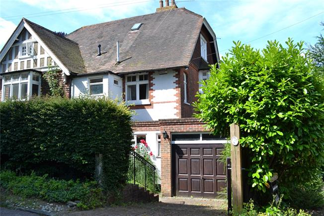 Asking Price £900,000, 4 Bedroom Semi Detached House For Sale in Kent, TN13