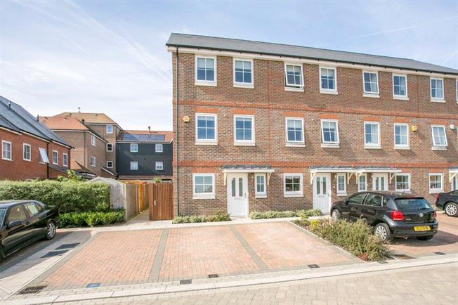 Guide Price £510,000, 4 Bedroom End of Terrace House For Sale in Sevenoaks, Kent, TN14
