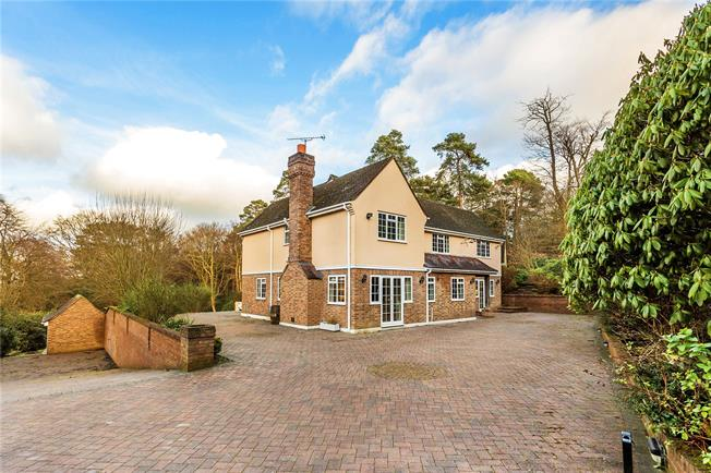 Guide Price £1,235,000, 4 Bedroom Detached House For Sale in Brasted Chart, TN16