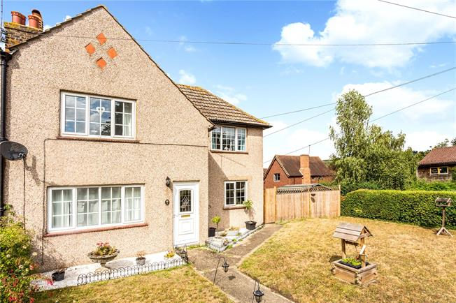 Guide Price £485,000, 2 Bedroom Semi Detached House For Sale in Sevenoaks, TN14