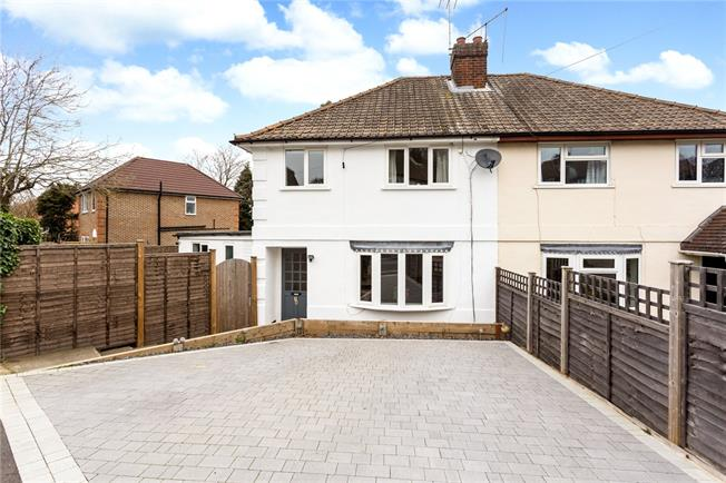 Asking Price £450,000, 3 Bedroom Semi Detached House For Sale in Kent, TN13