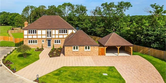 Guide Price £1,600,000, 5 Bedroom Detached House For Sale in Edenbridge, TN8