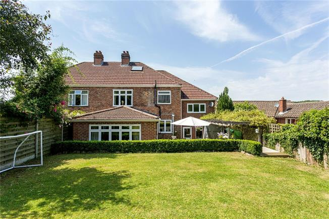 Guide Price £750,000, 4 Bedroom Semi Detached House For Sale in Badgers Mount, TN14