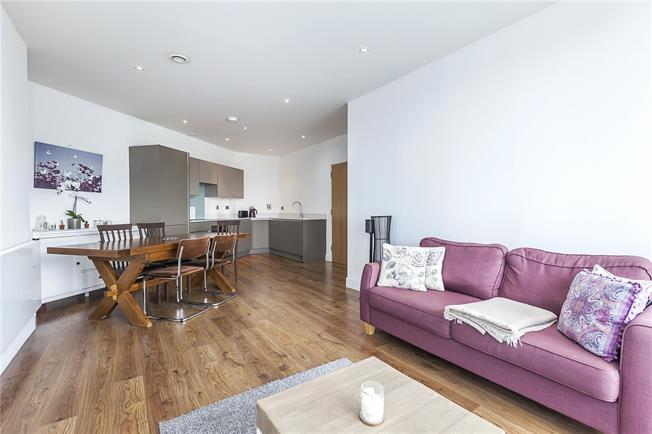 Offers in excess of £425,000, 2 Bedroom Flat For Sale in London, E14