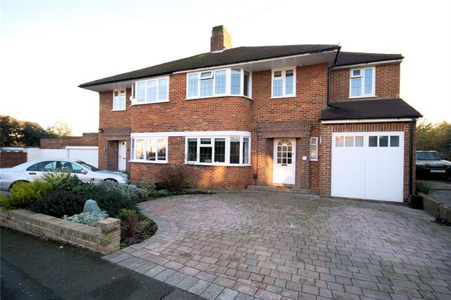 Asking Price £840,000, 4 Bedroom Semi Detached House For Sale in Middx, HA7