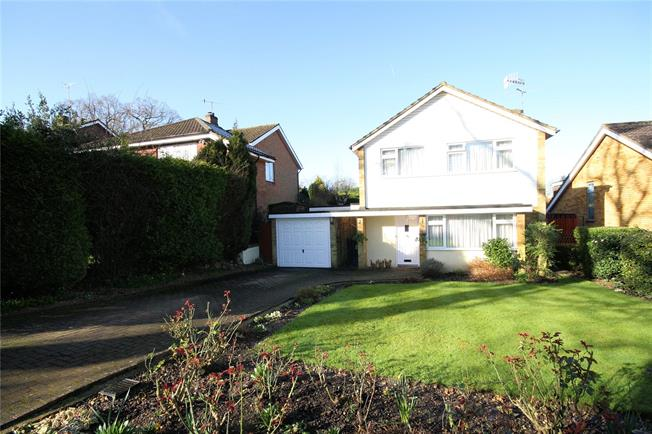 Asking Price £725,000, 3 Bedroom Detached House For Sale in Bushey Heath, WD23