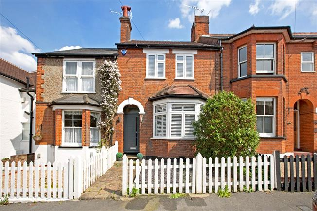 Offers in excess of £550,000, 2 Bedroom Terraced House For Sale in Bushey, WD23