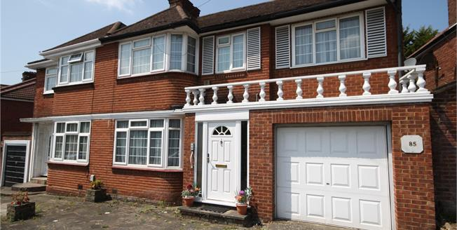 Offers in excess of £700,000, 4 Bedroom Semi Detached House For Sale in Stanmore, HA7