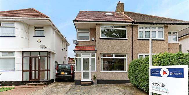 Asking Price £630,000, 4 Bedroom Semi Detached House For Sale in Stanmore, HA7