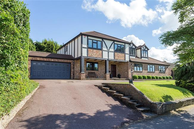 Asking Price £1,600,000, 4 Bedroom Detached House For Sale in Bushey, WD23