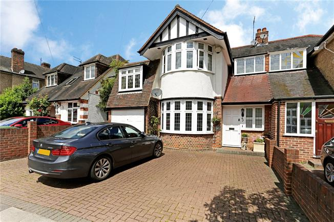 Guide Price £825,000, 4 Bedroom Semi Detached House For Sale in Stanmore, HA7