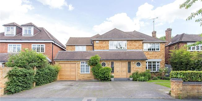 Asking Price £1,395,000, 5 Bedroom Detached House For Sale in Hertfordshire, WD23