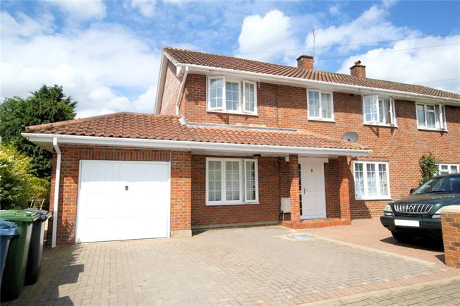 Asking Price £785,000, 5 Bedroom Semi Detached House For Sale in Stanmore, HA7