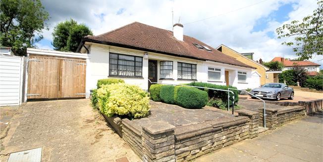 Asking Price £550,000, 2 Bedroom Bungalow For Sale in Edgware, HA8