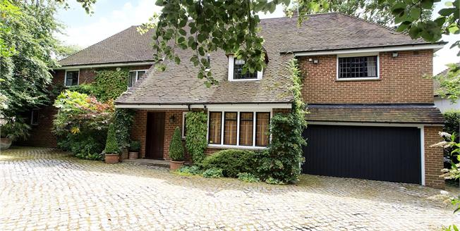 Asking Price £1,895,000, 4 Bedroom Detached House For Sale in Hertfordshire, WD23