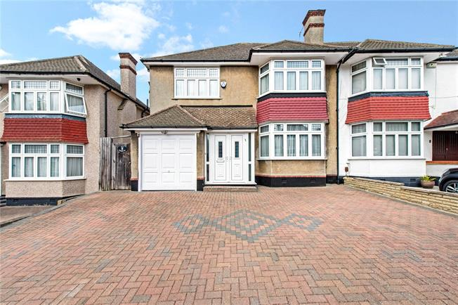 Asking Price £935,000, 4 Bedroom Semi Detached House For Sale in Stanmore, HA7