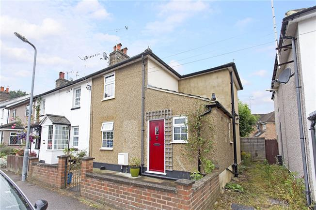 Asking Price £490,000, 2 Bedroom Semi Detached House For Sale in Bushey Heath, WD23