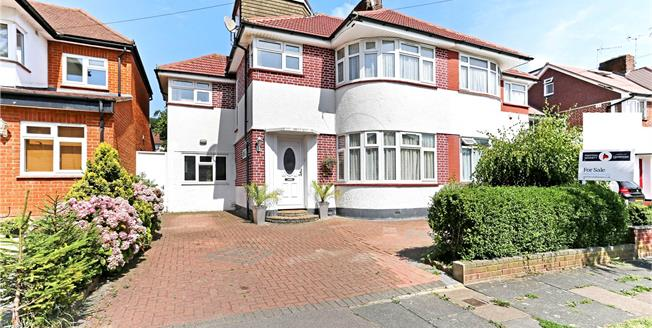 Asking Price £650,000, 5 Bedroom Semi Detached House For Sale in Stanmore, HA7
