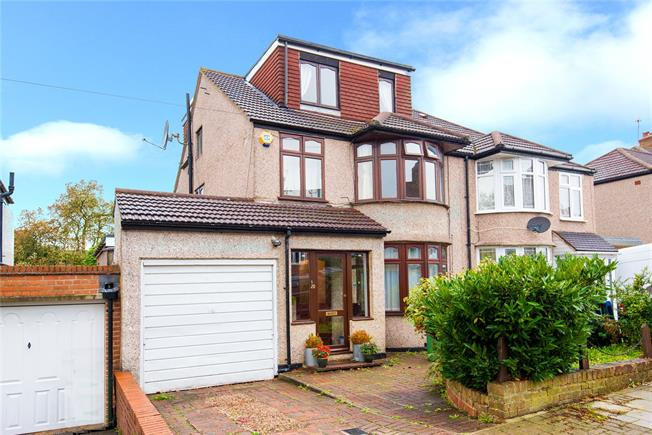 Guide Price £650,000, 5 Bedroom Semi Detached House For Sale in Stanmore, HA7