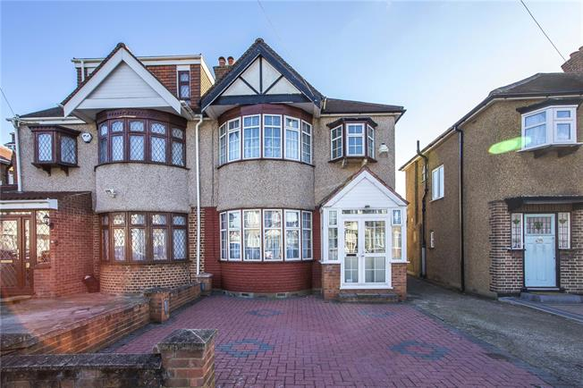 Asking Price £575,000, 3 Bedroom Semi Detached House For Sale in Stanmore, HA7