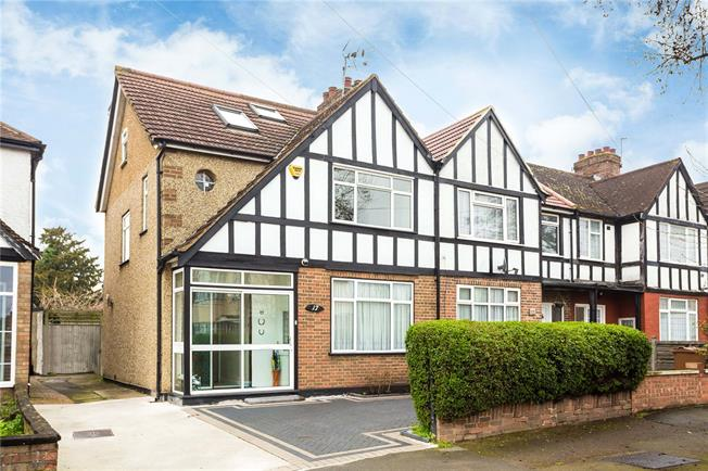 Asking Price £560,000, 4 Bedroom End of Terrace House For Sale in Harrow Weald, HA3