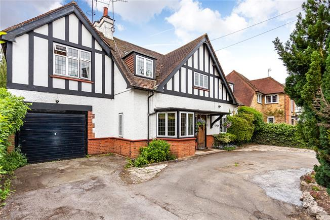 Asking Price £1,295,000, 4 Bedroom Detached House For Sale in Bushey, WD23