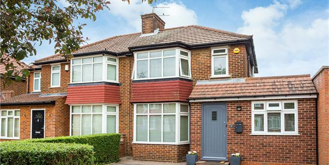 Asking Price £670,000, 4 Bedroom Semi Detached House For Sale in Stanmore, HA7