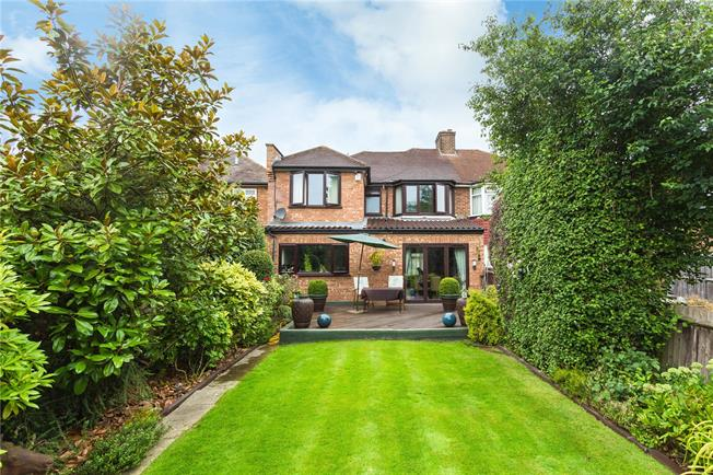 Asking Price £750,000, 4 Bedroom Semi Detached House For Sale in Stanmore, HA7