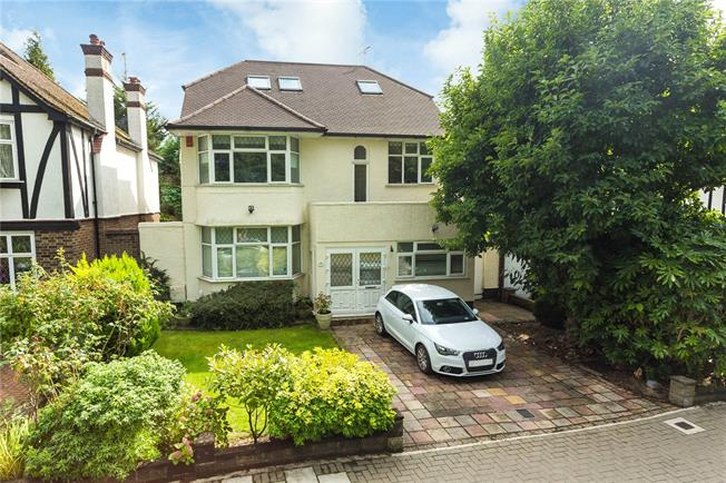 Offers in excess of £995,000, 5 Bedroom Detached House For Sale in Stanmore, HA7