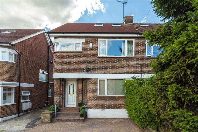 Asking Price £675,000, 4 Bedroom Semi Detached House For Sale in Harrow, HA3