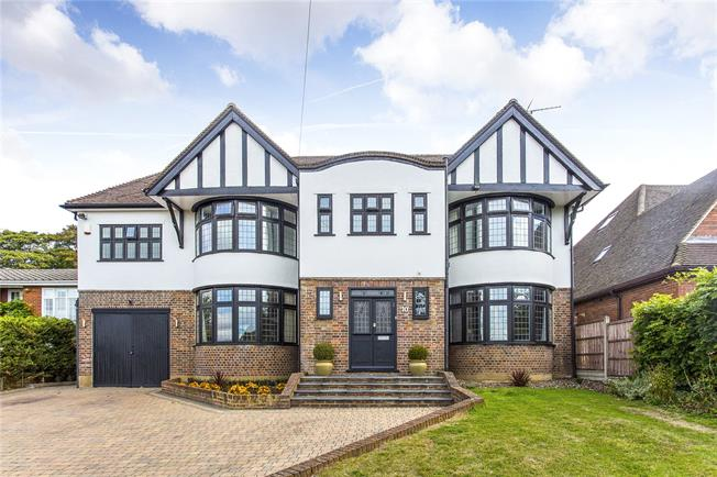 Asking Price £1,995,000, 4 Bedroom Detached House For Sale in Hertfordshire, WD23